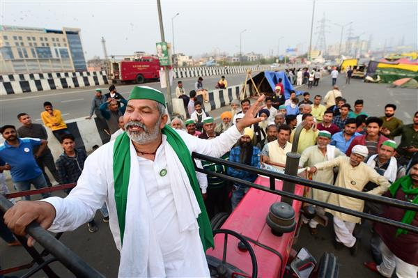Farmers not going home, will head to Kolkata soon: Rakesh Tikait