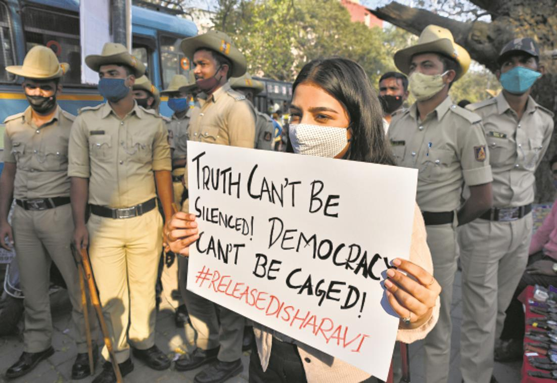 Police question lawyer Nikita Jacob, engineer Shantanu Muluk in toolkit case