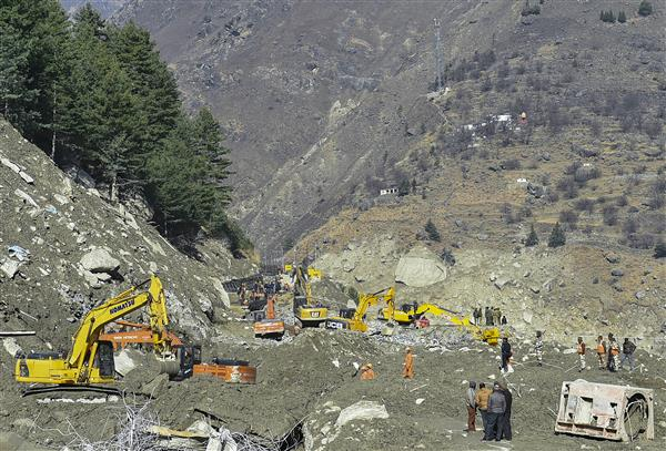 Rescuers pull out 6 bodies from Tapovan tunnel, 7 from other locations; toll rises to 51