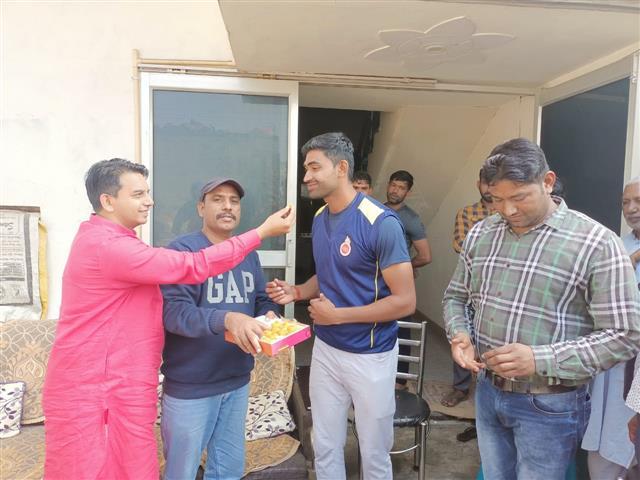 Pataudi lad makes it to IPL team, villagers celebrate