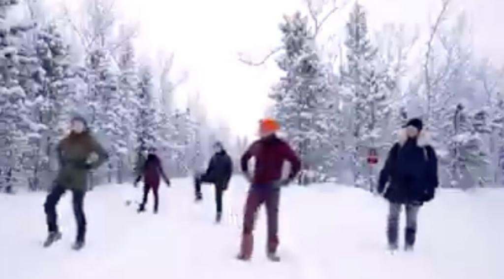 Canadian instructor takes outdoor Bhangra classes amid heavy snowfall; video goes viral