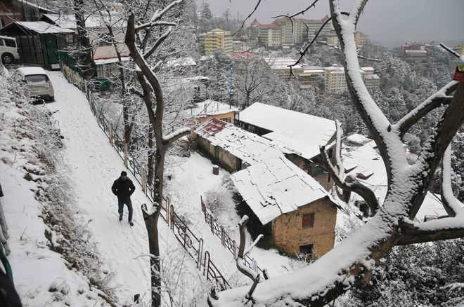 Snowfall likely in parts of Himachal on Saturday