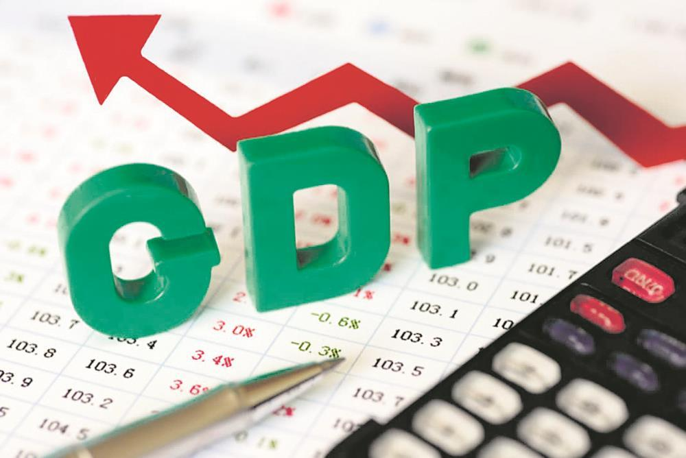 GDP back in positive territory, but barely