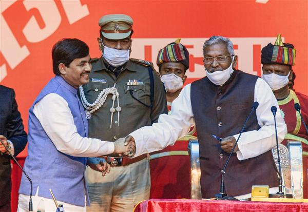 Shahnawaz Hussain marks entry in Bihar politics, inducted into Nitish Cabinet