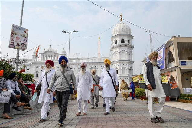 Devoid of Indian Sikh 'sangat', Saka Nankana Sahib commemorated at Sri Nankana Sahib
