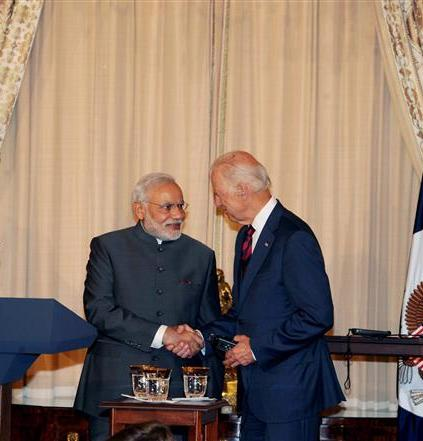 Biden, Modi committed to working towards greater Indo-US ties