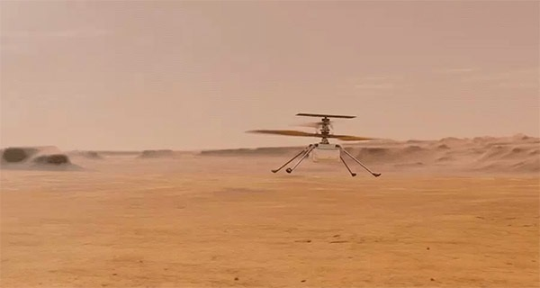 NASA's Ingenuity helicopter could pave way for future rover-drone tandem missions