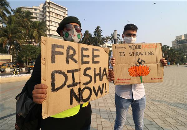 Toolkit case: Court asks Delhi Police to give FIR copy to Disha Ravi, allows her to talk to family