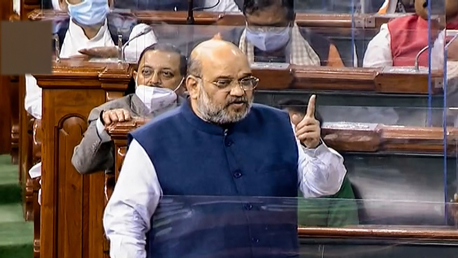 Agreement was on paper, J&K is in our hearts: Amit Shah to NC MP Hasnain Masoodi