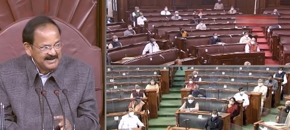Naidu calls for disruption-free, orderly discussions in House
