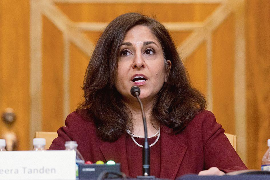 There is one candidate to lead the budget dept and her name is Neera Tanden: White House