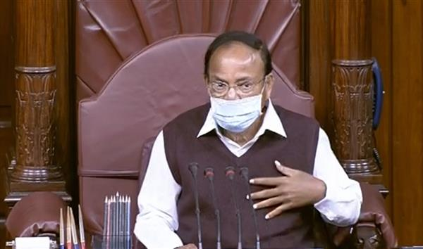 Naidu appreciates use of regional languages during Rajya Sabha session