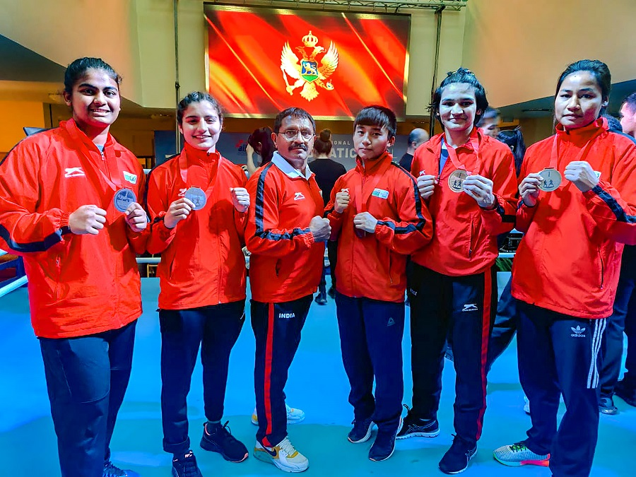 Indian women boxers sign off with 5 gold medals at Montenegro youth tourney