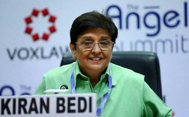Bedi leaves for Delhi after being Pondy Lt Guv for over 4 years
