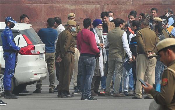 Deep Sidhu, Iqbal Singh taken to Red Fort to recreate crime scene