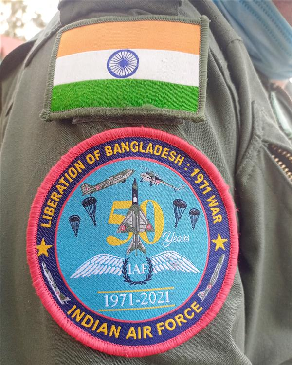 New IAF uniform patch to commemorate golden jubilee of Bangladesh liberation