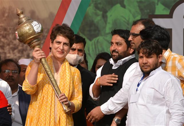 PM Modi's arrogance is clear to everybody: Priyanka Gandhi