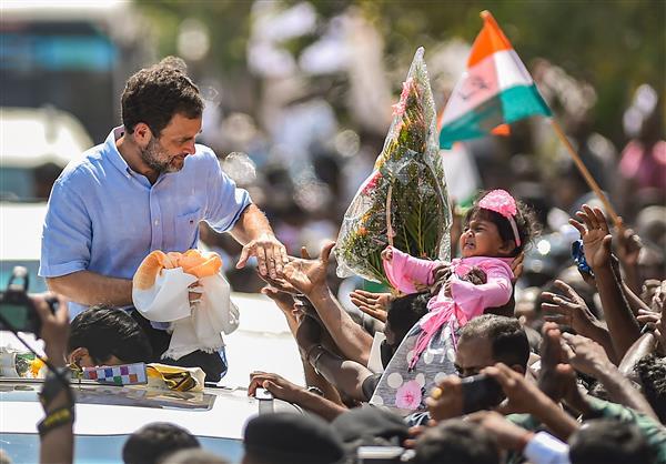 'Disparity' in wealth distribution stronger in BJP rule, says Rahul Gandhi