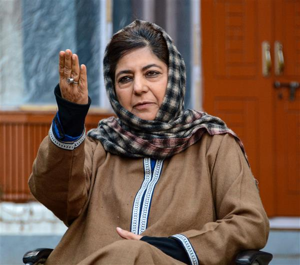 Delimitation exercise part of BJP's plan to divide, pit communities against each other: Mehbooba