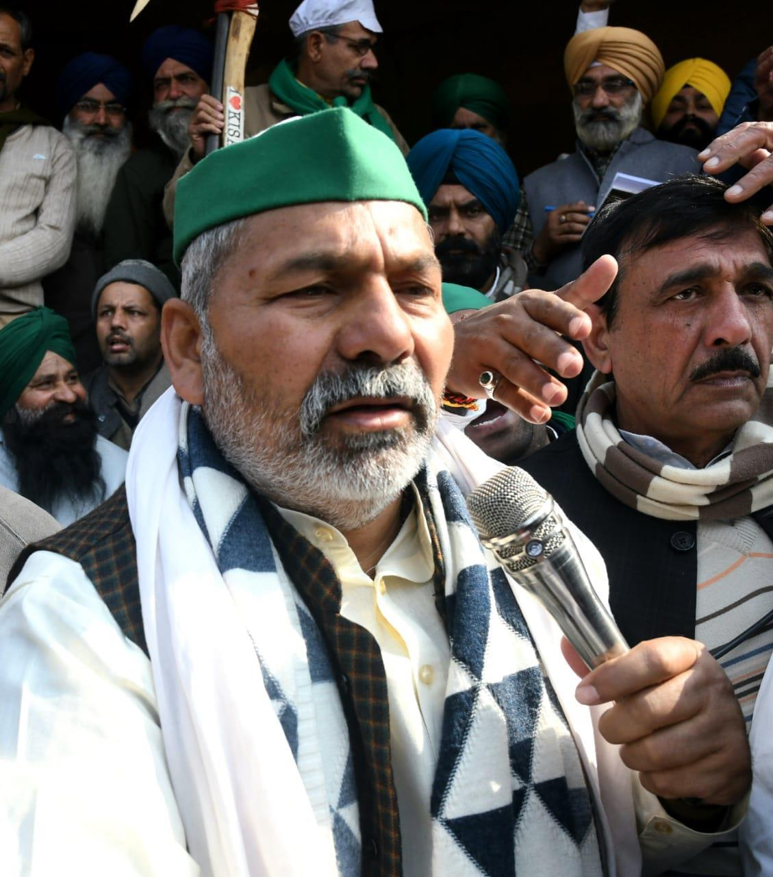 Farmers' protest will go on for indefinite period, says Rakesh Tikait
