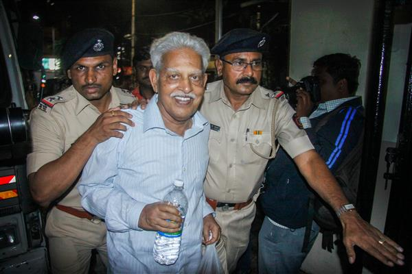 Varavara Rao gets 6-month bail on medical grounds