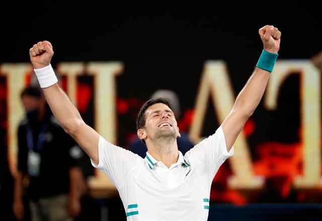 Djokovic thrashes Medvedev for record-extending ninth Australian Open title