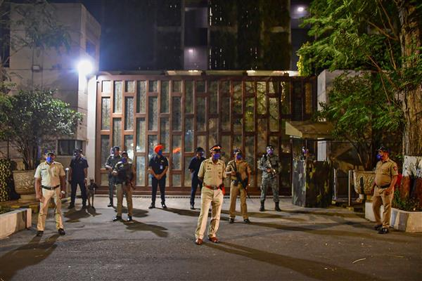 Vehicle with explosive substance found near Mukesh Ambani's house