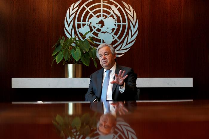 UN chief strongly condemns detention of political leaders, transfer of powers to military in Myanmar