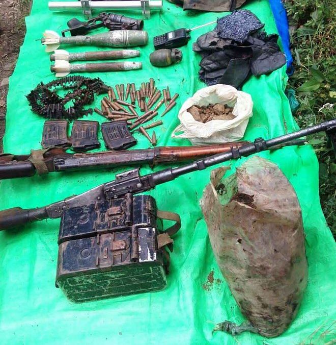 Warlike stores found in Reasi