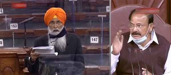 Opposition amps up their stand against farm laws in Rajya Sabha
