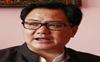 No hard quarantine for foreign athletes: Kiren Rijiju
