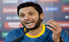 Afridi expresses displeasure after umpire refuses to take cap