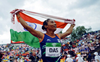 Hima wins 200m gold in her first race after more than a year