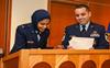 US military's first India-born woman Muslim chaplain graduates from Chaplin College