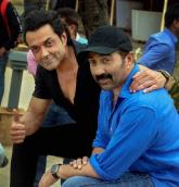 Sunny Deol shares rare picture of mother Prakash Kaur with brother Bobby Deol; see post