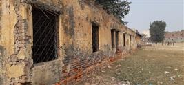 Dilapidated school building in Faridabad poses threat to pupils