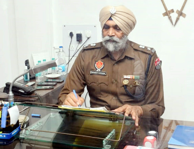 Parminder Singh Bhandal takes charge as Deputy Commissioner of Police (Law & Order) of Amritsar