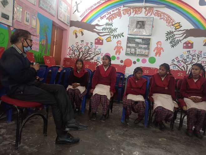 Education Secy visits different govt schools