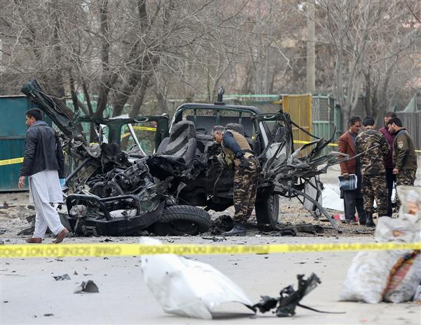 3 killed, 20 hurt in Afghan blasts