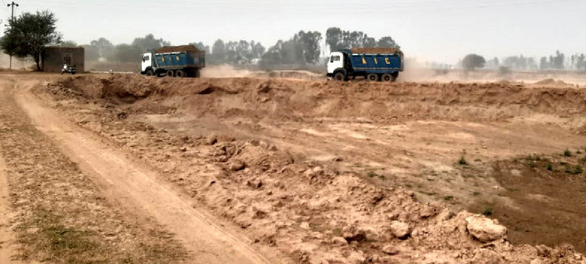 Illegal mining in Ghanaur: FIRs lodged, but no action so far