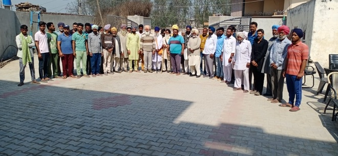 Villagers say no to land for dairies
