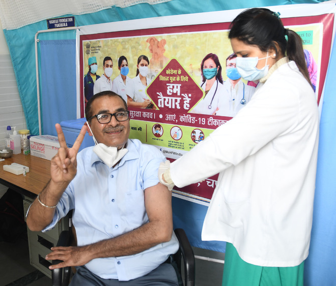Chandigarh police vaccine coverage only 8 pc