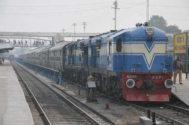 Train services resume in Ferozepur division