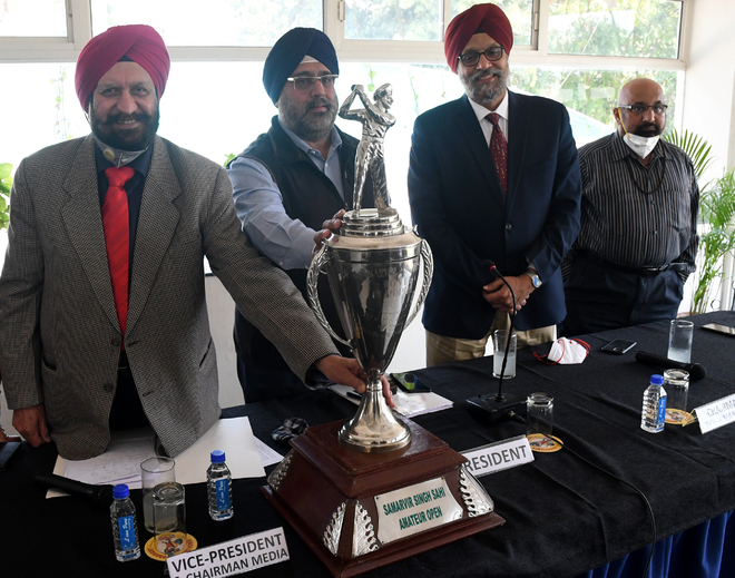 Samarvir Sahi golf championship begins today
