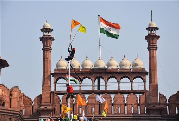 Delhi resident held for R-Day violence