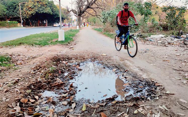 Smooth ride on mind, Chandigarh begins repair work