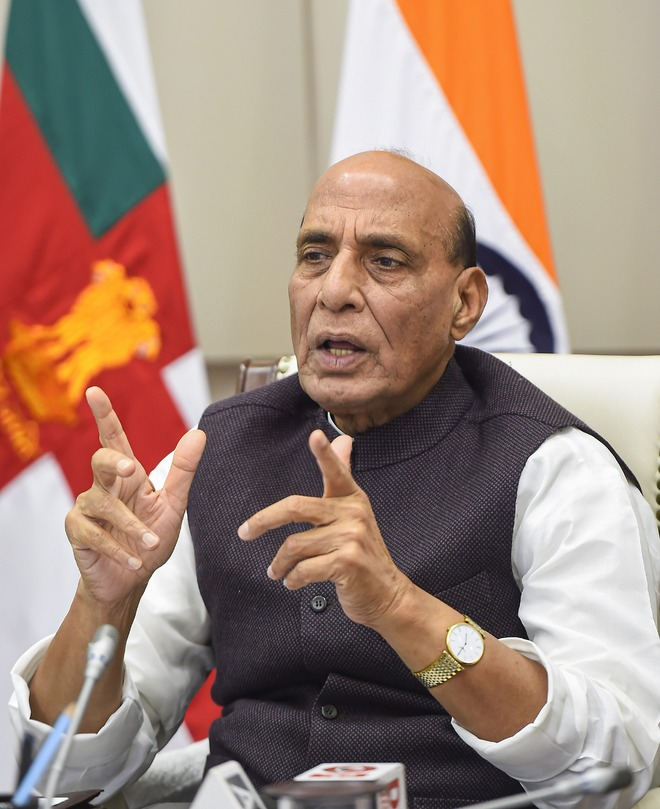 Rs 70K cr kept for domestic defence purchase: Rajnath