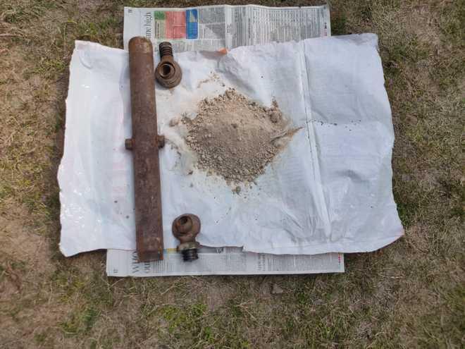 895-gm heroin recovered in Ferozepur