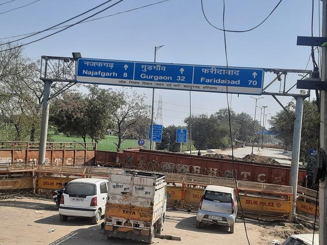 Farmers seek reopening of Jharoda border