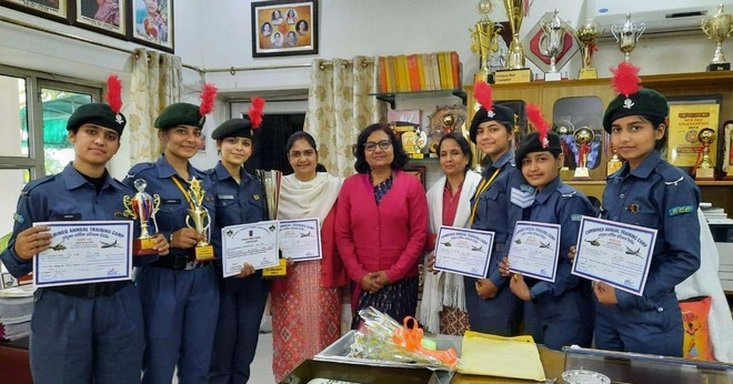 Best NCC institution award